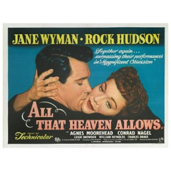 """All That Heaven Allows,"" Film Poster"
