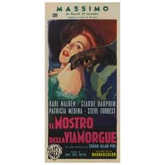 """""""Il Mostro della Via Morgue,"""" Film Poster"""