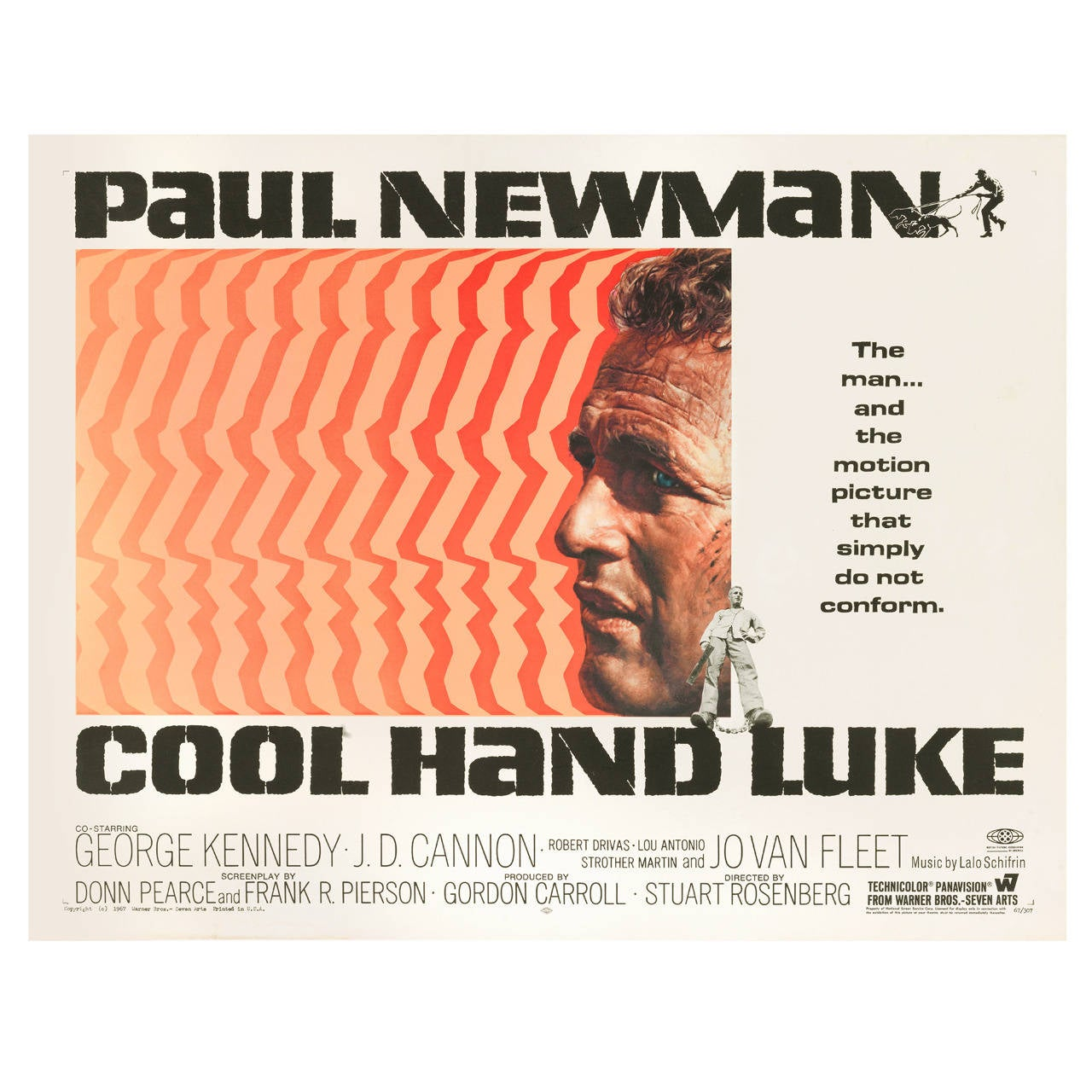 Cool Hand Luke Us Movie Poster At 1stdibs