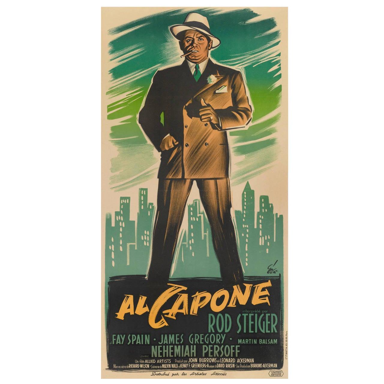"""""""Al Capone,"""" Movie Poster"""