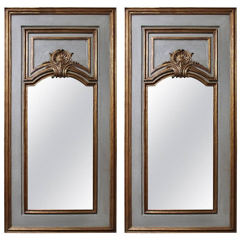 A Pair of French Regence Style Mirrors