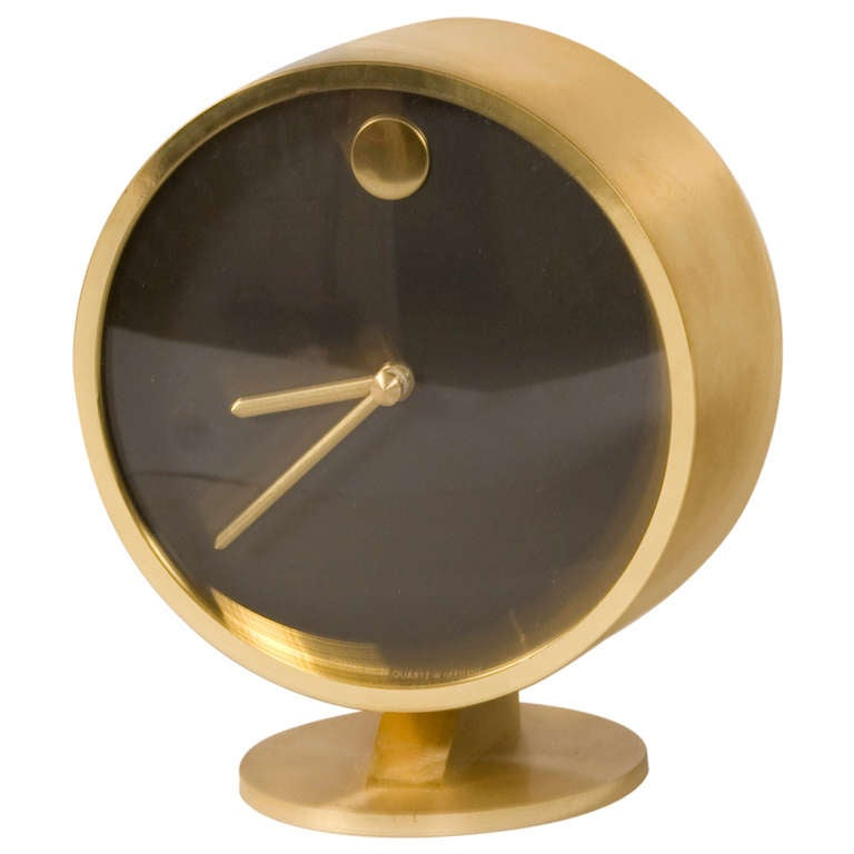 Minimalist Desk Clock By George Nelson At 1stdibs