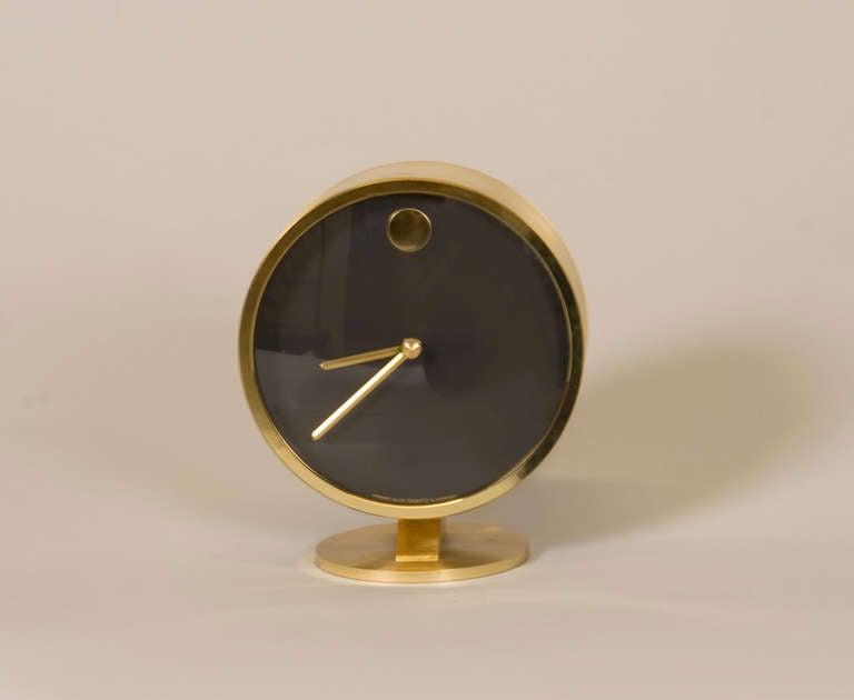 Minimalist Desk Clock By George Nelson In Excellent Condition For San Francisco Ca