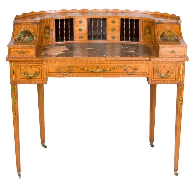 Elegant Carlton House Writing Desk At 1stdibs