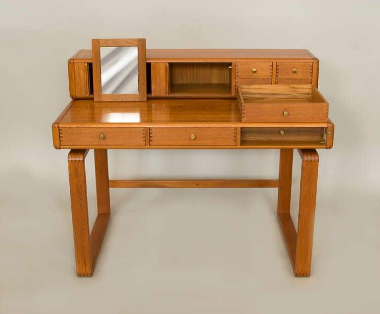 Japanese Danish Inspired Desk Dressing Table By D Scan