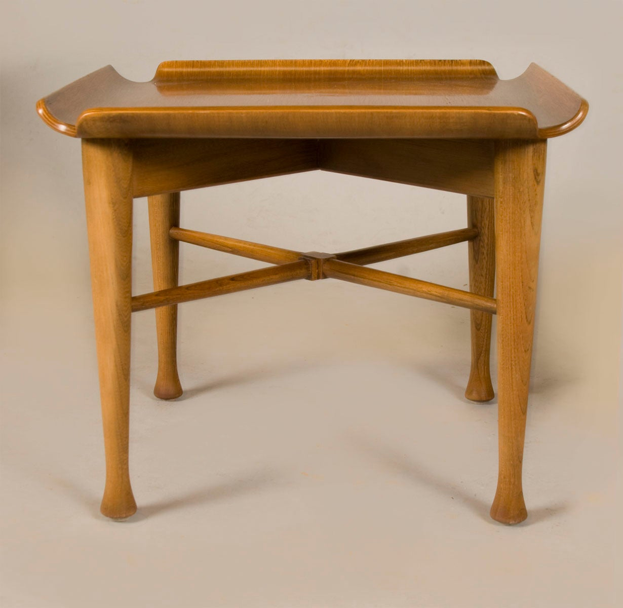 Unique pair of danish end tables at 1stdibs for Unique end tables