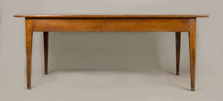 18th Century  19th Cent.French Cherrywood neoclassic Dining Table For Sale