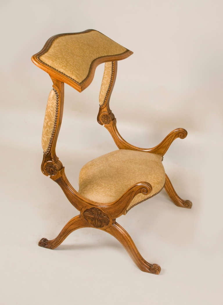 19th Cent Campain Metamorphic Low Chair Prayer Stool Prie Dieu For Sale At 1stdibs