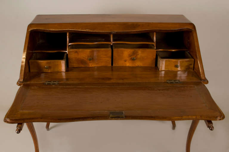 Hand-Crafted Mid 19th Century French Writing Table/ Desk