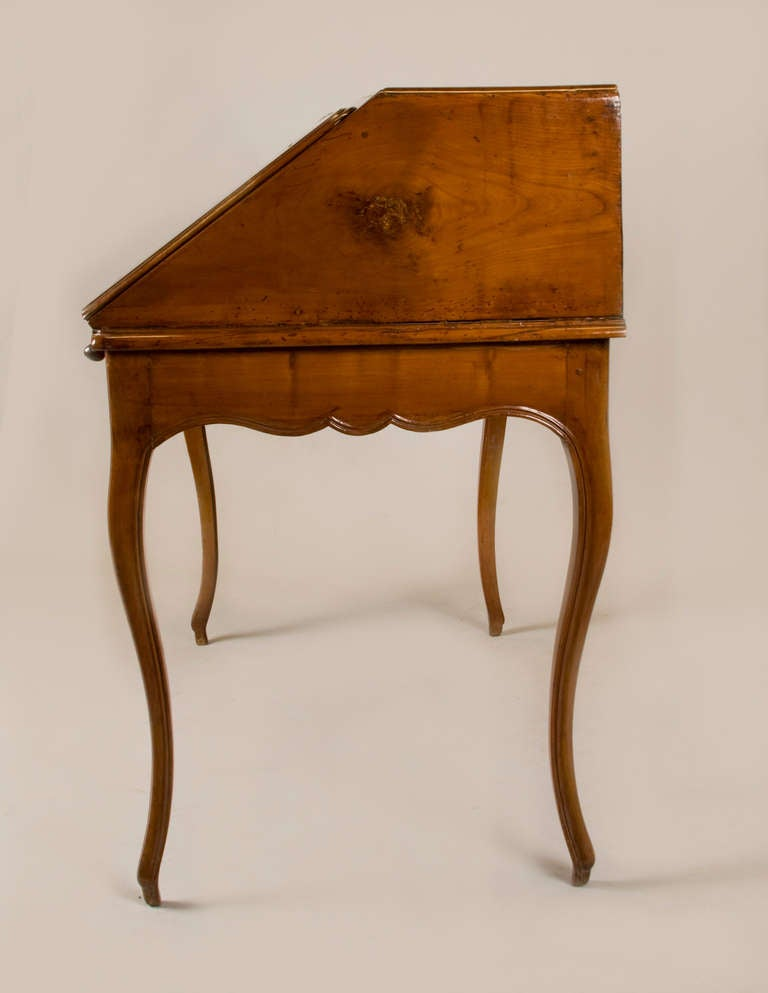 Cherry Mid 19th Century French Writing Table/ Desk