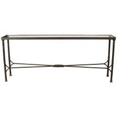 Diego Giacometti designed Reproduction Bronze Console Table