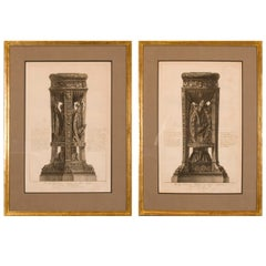 Copper Plate Engravings by Giovanni Battista Piranesi