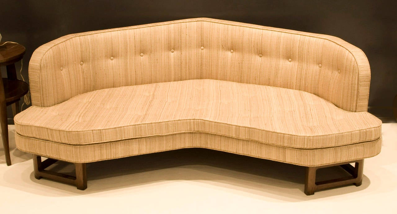 Wide angle janus sofa by edward wormley for dunbar for for Wide couches