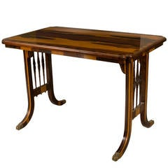 Regency Rosewood Library or Sofa Table