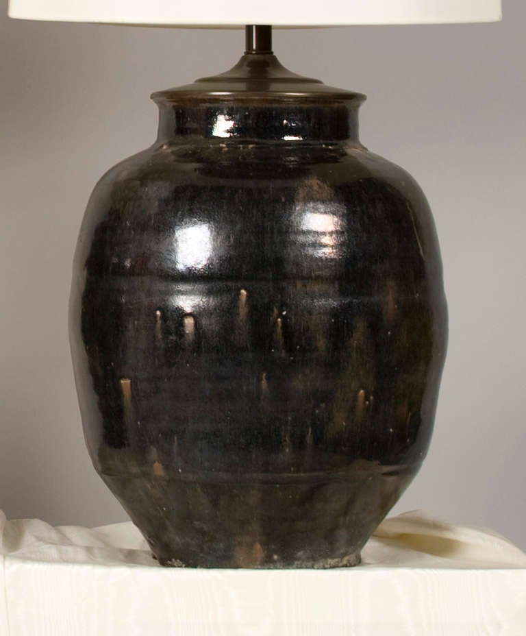 Pair Of Antique Ginger Jar Lamps At 1stdibs
