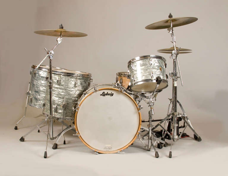 1965 Ludwig Quot Super Classic Quot Drum Set At 1stdibs