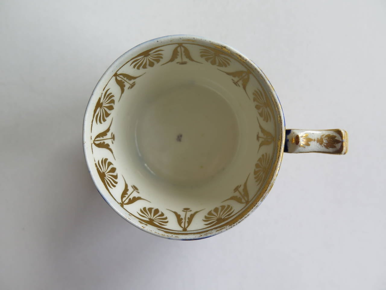 George 111rd Derby Coffee Can Hand-Painted Named View Near Edmonton, Ca 1810 For Sale 2