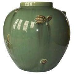 "Rare ""Kang"" Patterns Art Deco Vase, Clarice Cliff, Bizarre Range, circa 1935"