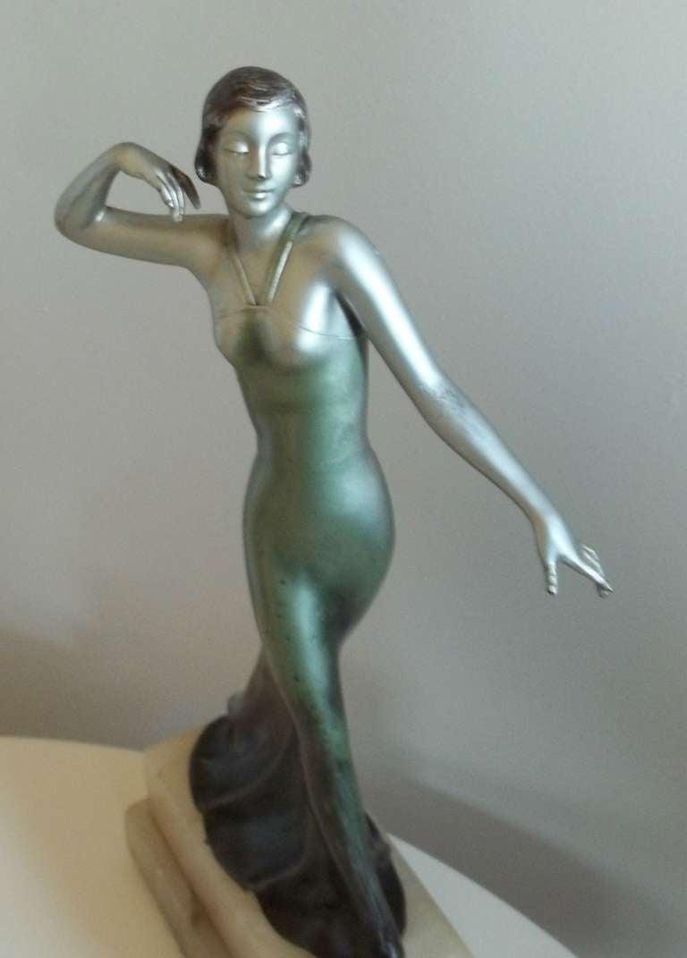LORENZL Style, Sculpture or FIGURINE, Art Deco, Circa 1920-35 5