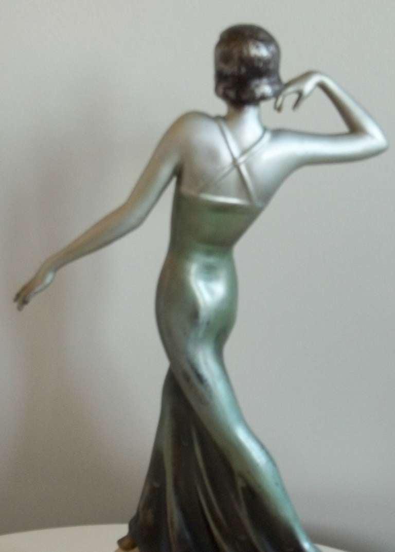 LORENZL Style, Sculpture or FIGURINE, Art Deco, Circa 1920-35 7
