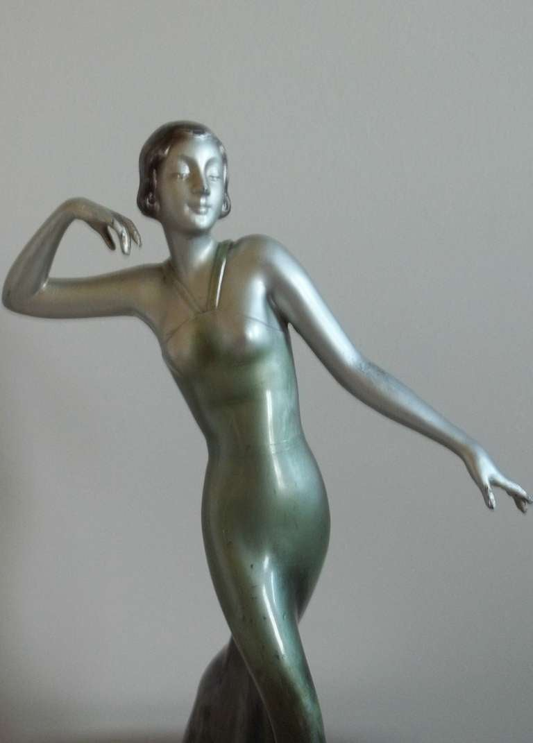 LORENZL Style, Sculpture or FIGURINE, Art Deco, Circa 1920-35 3