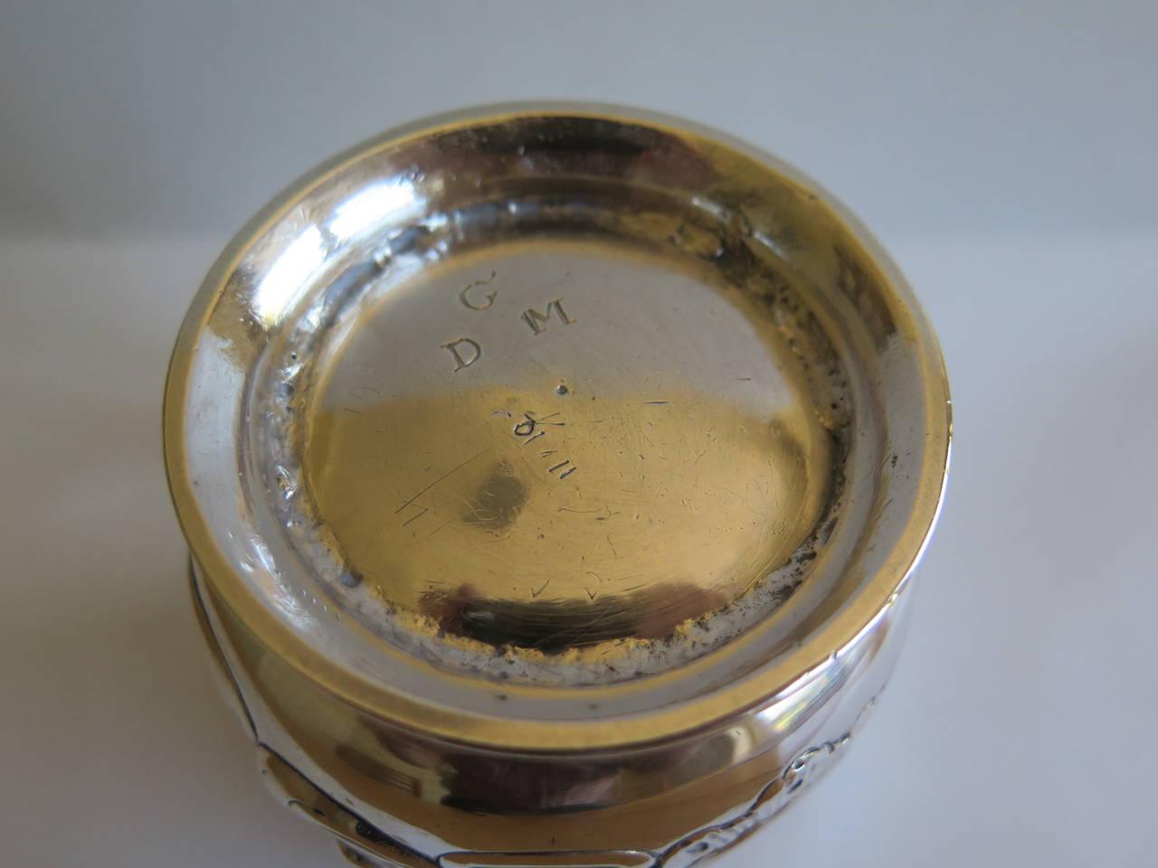 Rare Irish George II Silver Mug or Tankard by John Moore, Dublin 1740 10