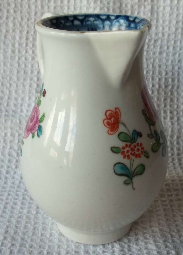 Doctor Wall First Period Worcester Sparrow Beak Jug Porcelain, Circa 1770 For Sale 6