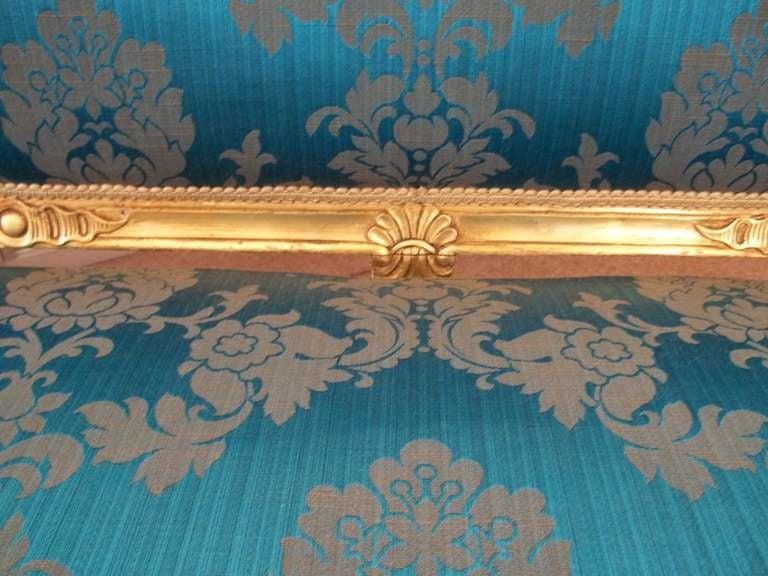 Mid-19th Century, Settee or Sofa, Louis XV Style, English, Giltwood, circa 1850 8