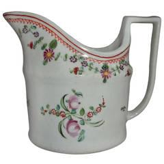 Georgian John Rose Coalport Milk Jug or Creamer Porcelain, circa 1800