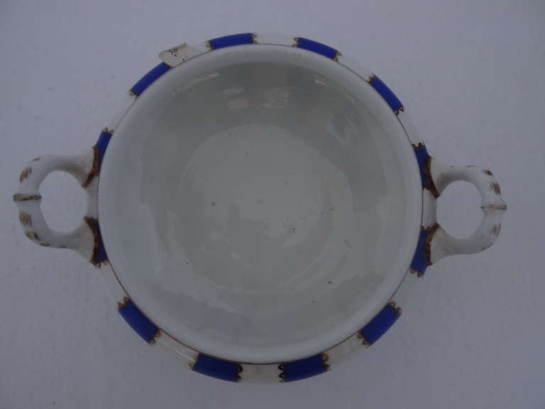 porcelain bowl with cover by bloor derby provenance. Black Bedroom Furniture Sets. Home Design Ideas