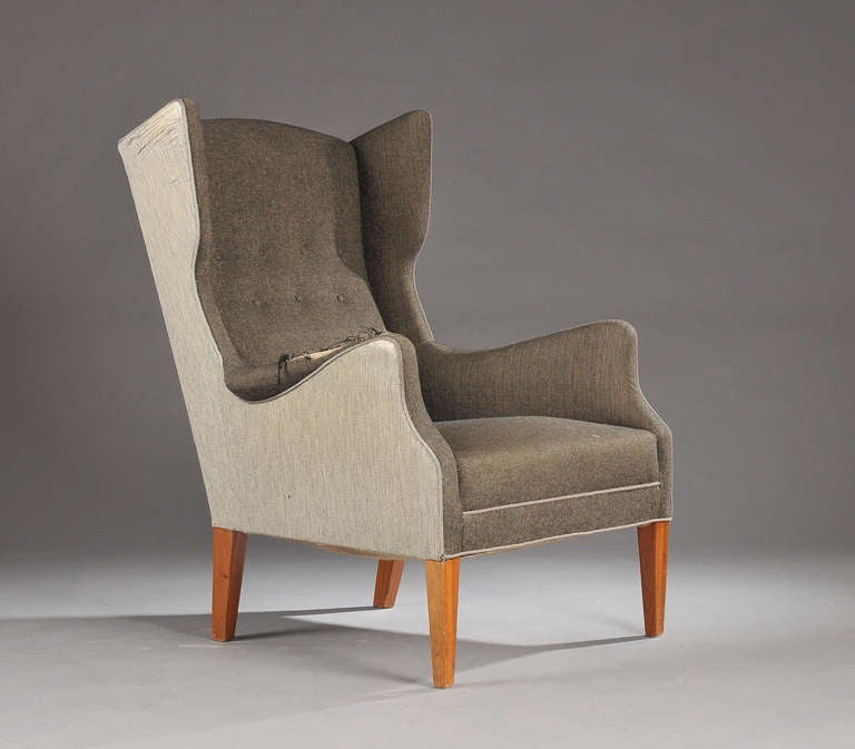 Wingback Chair By Im Christensen For Sale At 1stdibs