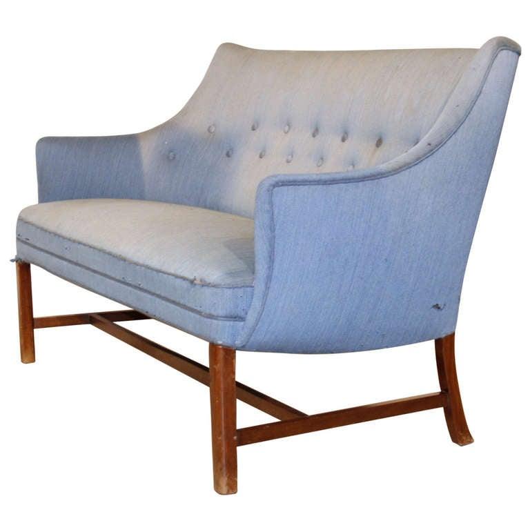 Frits Henningsen Sofa, circa 1930 - 1950