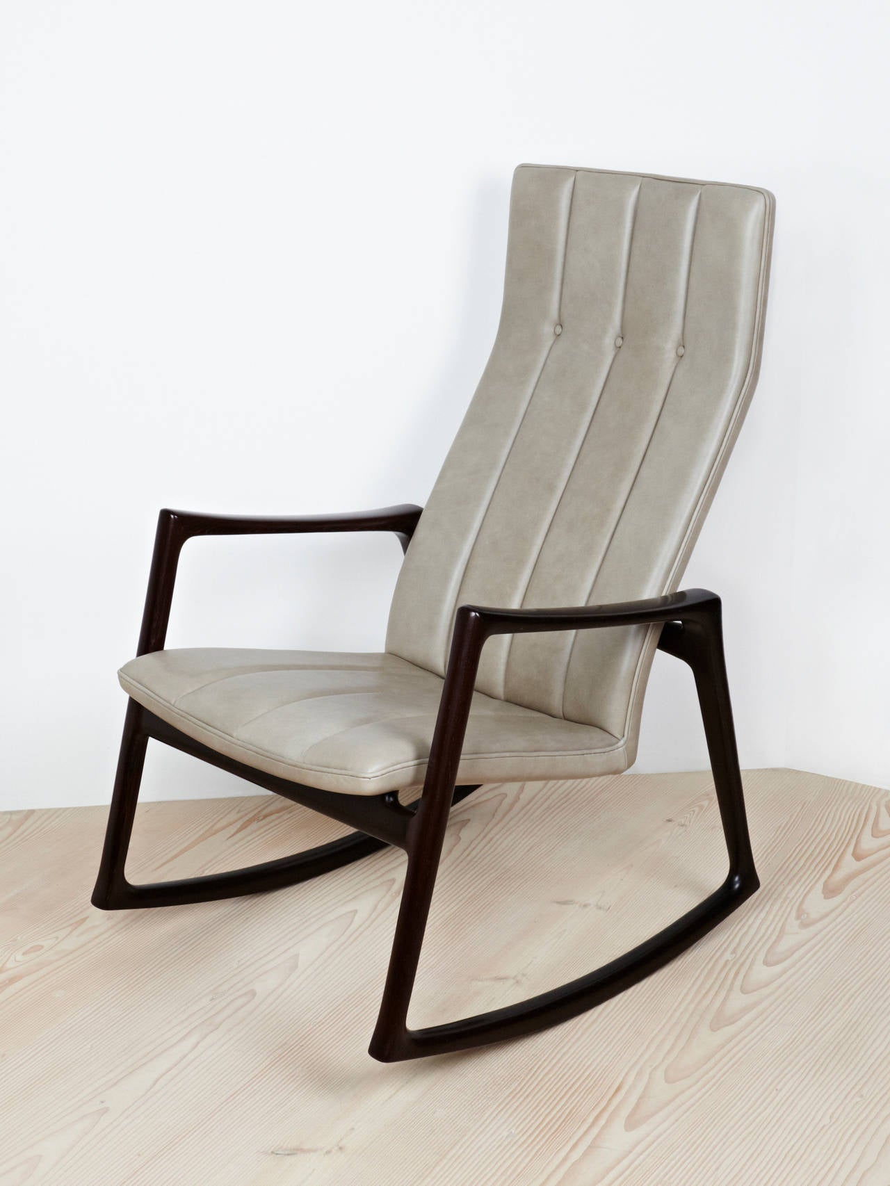 Helge Vestergaard Jensen Rocking Chair For Sale at 1stdibs