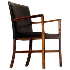 Ole Wanscher Rosewood Desk Chair, circa 1950