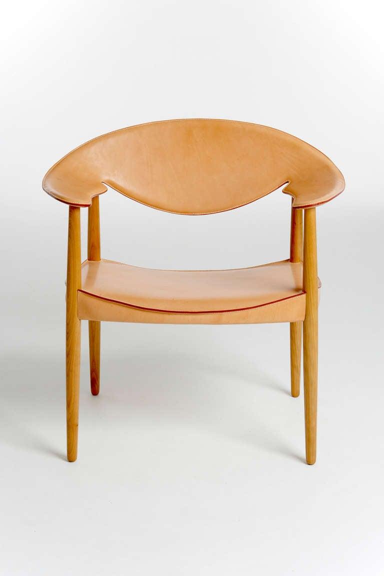 Metropolitan Chair by Ejnar Larsen and Aksel Bender Madsen