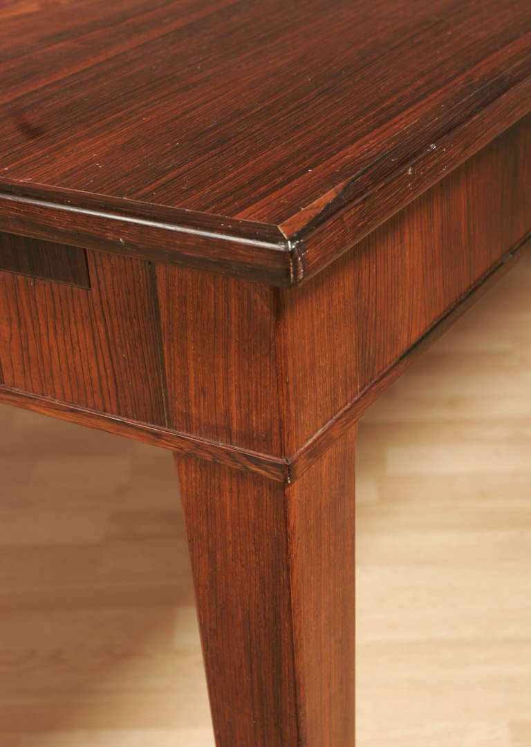frits henningsen rosewood dining table circa 1950 for sale at 1stdibs