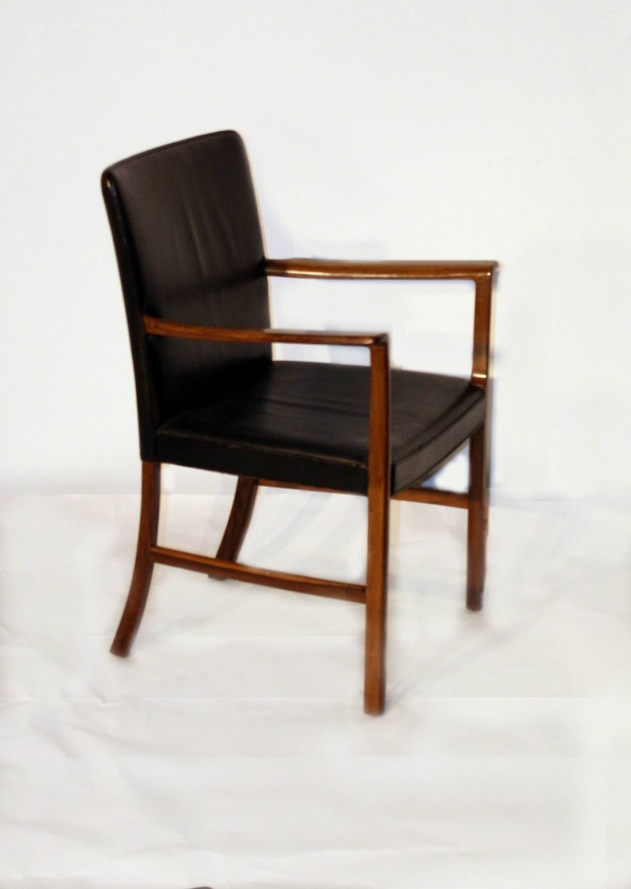 Ole Wanscher Rosewood Desk Chair, circa 1950 For Sale at ...