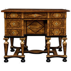 northern italian burlwood writing table for sale at 1stdibs. Black Bedroom Furniture Sets. Home Design Ideas