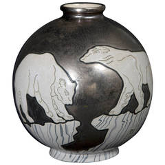 "Vase ""Polar Bear"" by Danillo Curetti"