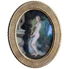 Female Nude In Garden