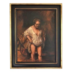 Woman Bathing 'Rembrandt'