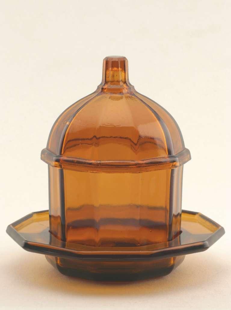 art deco jam or honey jar by k p c  de bazel for royal leerdam at 1stdibs