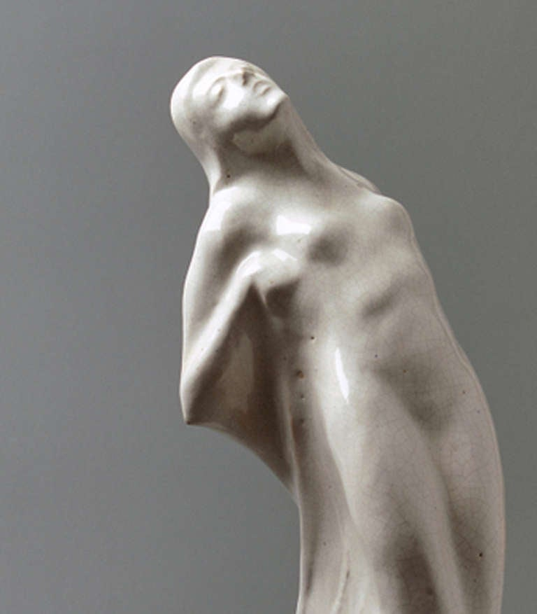 20th Century Symbolistic Art Deco Sculpture, 1920s For Sale