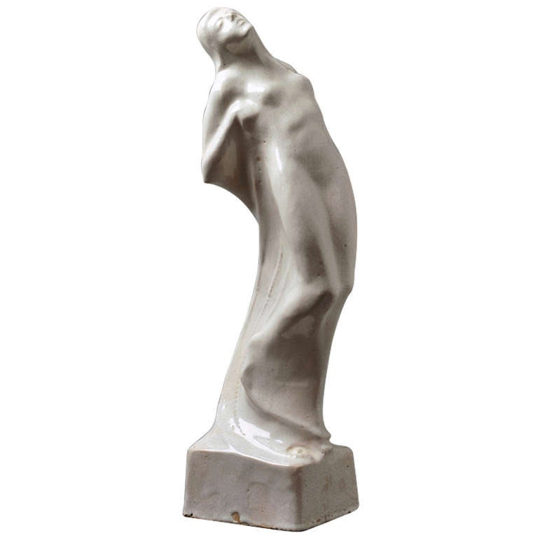 Symbolistic Art Deco Sculpture, 1920s