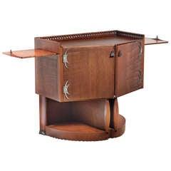 Rare Art Deco Tea Cabinet by Michel de Klerk, 1916