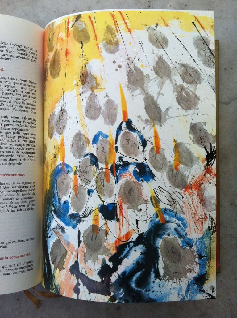 Salvador Dali Illustrated Bible With 40 Full Page
