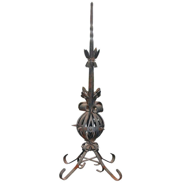 Cast Iron Finial from Building Top