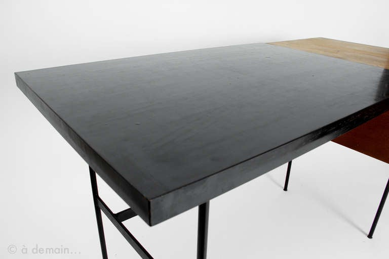 cm 141 desk by pierre paulin for thonet 1954 at 1stdibs. Black Bedroom Furniture Sets. Home Design Ideas