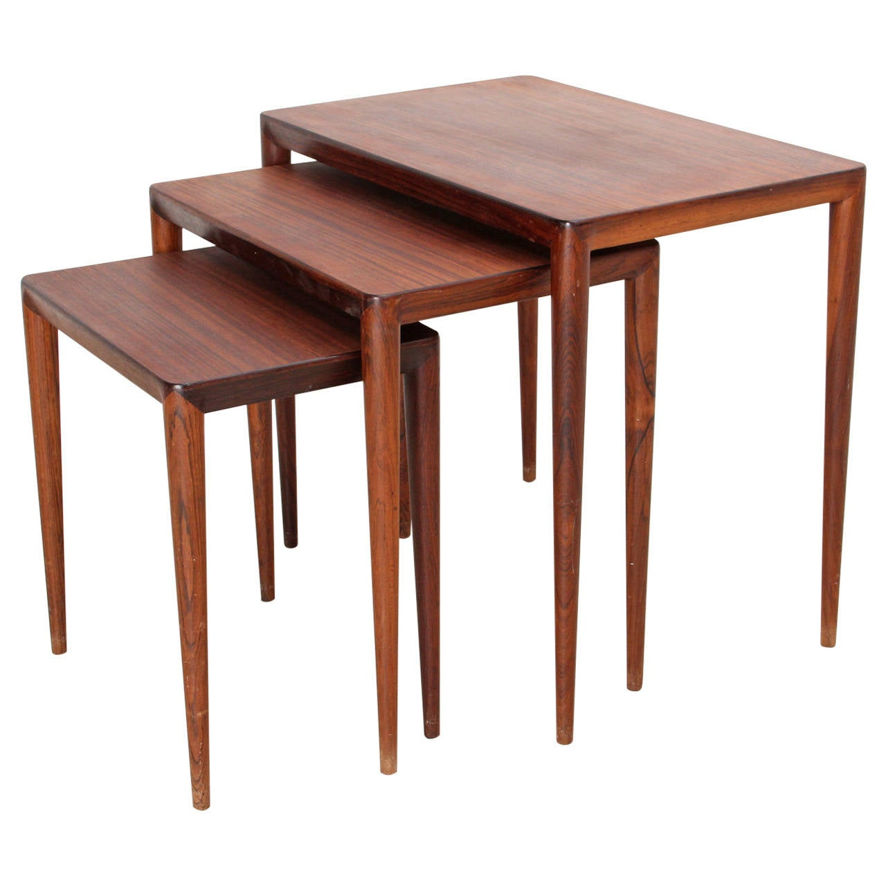 Set Of Three Nesting Coffee Tables From 1960s At 1stdibs