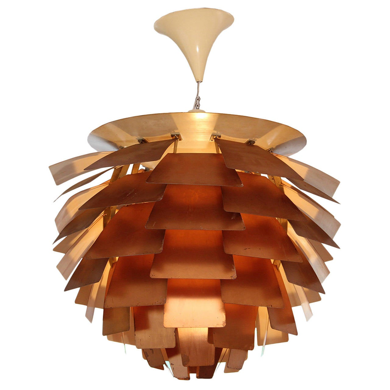 PH Artichoke Lamp by Poul Henningsen edited by Louis Poulsen  1958 1PH Artichoke Lamp by Poul Henningsen edited by Louis Poulsen  1958  . Poulsen Lighting Artichoke. Home Design Ideas
